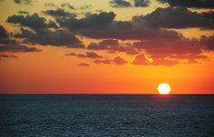 Sunset #ocean #sunset #nature