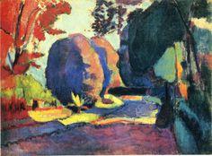 Henri Matisse, Le Jardin du Luxembourg