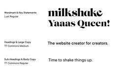 Milkshake - Mindsparkle Mag Milkshake is a mobile Insta website maker designed by Sophie Dunn. #logo #packaging #identity #branding #design #color #photography #graphic #design #gallery #blog #project #mindsparkle #mag #beautiful #portfolio #designer