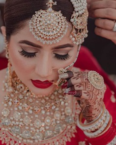 Red Lips Bridal