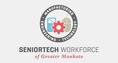 Seniortech | Cast Iron Design Company #logo #vector #identity #branding