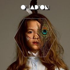 Fanou and Co...: Quadron #album #design #cover #photography #type #quadrom