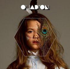Fanou and Co...: Quadron #album #design #cover #photography #type #quadrom