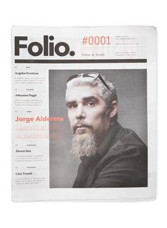 Folio. on the Behance Network #editorial