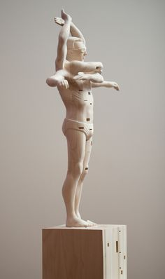 Limber by Paul Kaptein #sculpture #kaptein #wood #limber #art #paul