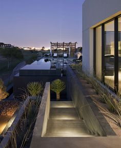 Spectacular Luxury Desert House - #outdoor, #architecture, #house, #landscaping