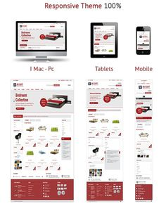 Mj Cart - Mobile REady Virtuemart Website #virtuemart #site #responsive #clean #theme #ecommerce #furniture #store #mobile #for #android #template #joomla
