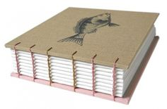 charmichael's cheilodactyle fish book by grimm on Etsy #book #cover #binding #charmichaels cheilodactyle fish #grimm #hand craft