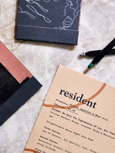 Resident Branding - Mindsparkle Mag Resident Branding is a beautiful project designed by Stitch Design Co. for Resident, a communal dining experience in private spaces. #logo #packaging #identity #branding #design #color #photography #graphic #design #gallery #blog #project #mindsparkle #mag #beautiful #portfolio #designer