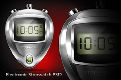 Lectronic stopwatch psd & icon Free Psd. See more inspiration related to Icon, Digital, Psd, Electronic, Stopwatch and Horizontal on Freepik.