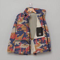 Stone Island: Camo M65 Jacket (Beige) #camo