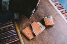 Eighteen32 leather. #leather #notebook #fieldnotes #leatherwallet #wallet
