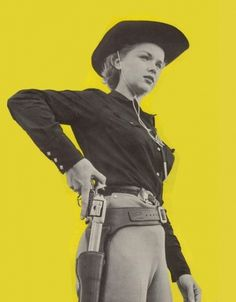 Dark Roasted Blend: Lovely Cowgirls in Vintage Westerns #western #gun #photography #vintage #cowgirls