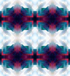 Pattern Collage - sallie harrison #quilt #pattern #geometric #shape #collage