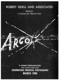 1980 Argo Movie Poster #movie #sci #fi #argo #cia #poster #typography