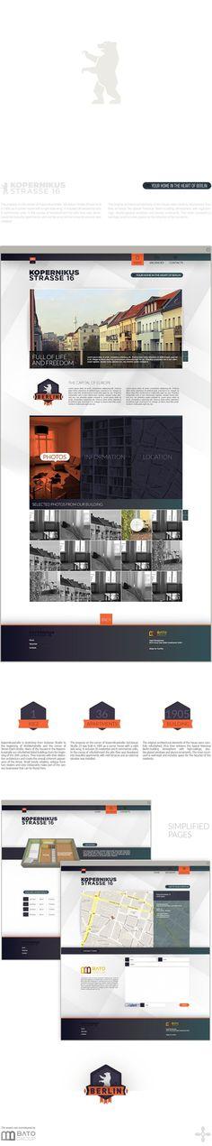 Koppernikusstrasse 16 by Pavel Pavlov #identity #web