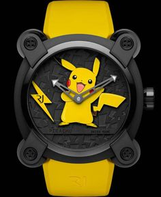 Do You Love Pokémon Enough to Spend $20000 on a Pikachu Watch? #pikachu #pokemon #pokemon20 #romainjerome