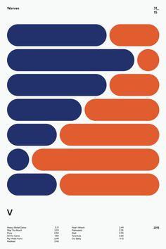 swissritual.ca #SwissRitual #graphic #design #minimal #music #grid #poster #swiss #illustration #Wavves