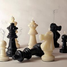 Scaccomatto Chess Candles #tech #gadget #ideas #gift #cool