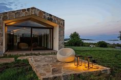 Contemporary Stone House Inspired by the Old Rural Buildings of Sardinia 17