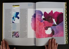 10,000 digital paintings in Eye Magazine · FIELD Generative Design + Interactive Art #print #design #offline #illustration #magazine