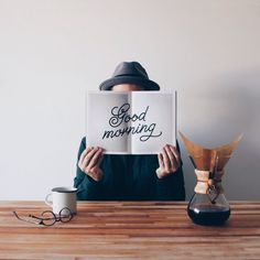 Northern Moments – Good Morning #script #handlettering #typography