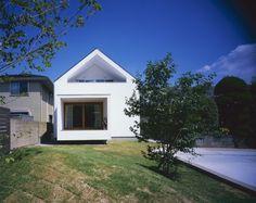 House in Fukai by Naoko Horibe #modern #design #minimalism #minimal #leibal #minimalist