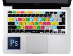 Photoshop Keyboard Cover Printed shortcuts on cover for apple keyboards https://goo.gl/6x7501