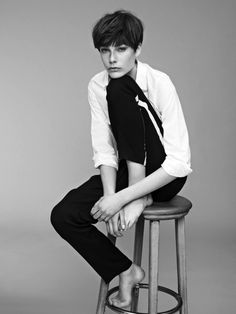 Madelene de la Motte by Nadine Ottawa for SI Style