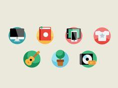 Flat icons 1