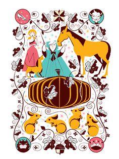 Cindy Before #illustration #disney #cinderella #scotty reifsnyder #see scotty