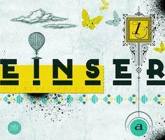 COMIENZO on the Behance Network #print #yellow #einser #illustration #azul #soar #comienzo #amarillo #collage