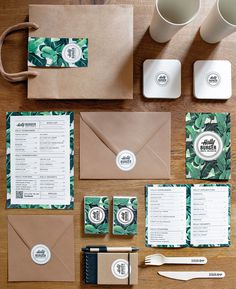 Holly Burger #spain #menu #identity #restaurant