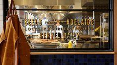 Projects | Gemma Warriner | Sean's Kitchen Adelaide #signage #identity #branding