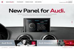Audi #site #design #interface #ui #web #art #audi #car