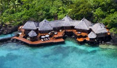 You will never occurrence the fascination of the South Pacific anyplace as fully as in the 2 bedroom Fiji villa, which appears to float above the emerald-green lagoon. Book with Villa Getaways.