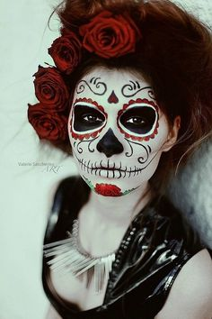 Re-hearted by LadyElaine | 167 xd1x84x #dia #los #of #makeup #de #body #the #day #art #dead #muertos