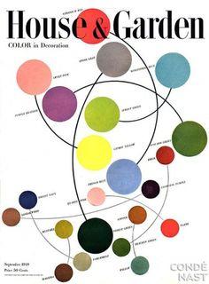 plenty of colour #abstract #hue #house #tints #graphic #retro #vintage #garden #colour #magazine