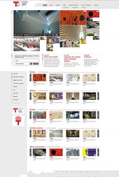 Triennale di Milano Web TV on Web Design Served #vcbvc