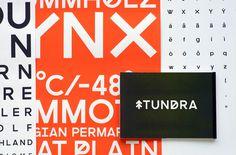 tundra typeface
