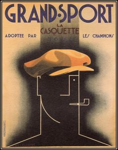 Celebrating Cassandre: Gorgeous Vintage Posters by One of History's Greatest Graphic Designers | Brain Pickings #head #pipe #poster