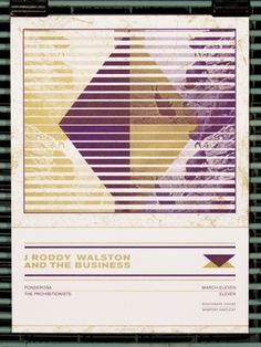 GigPosters.com - J Roddy Walston And The Business #illustration #design #poster #typography