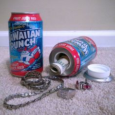 Hawaiian Punch Diversion Safe Can #tech #flow #gadget #gift #ideas #cool