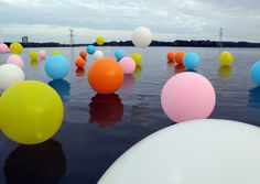 Merijn Hos - Cultuurnacht Almere on the Behance Network #color #balloons