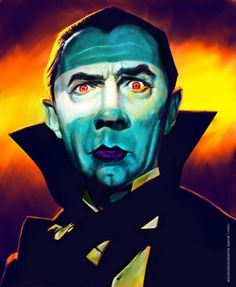 Bela Lugosi « PICDIT #painting #design #art