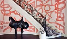 Kelly Wearstler, Inc. | Residential and Commercial Interior Design| Residential Projects | Hillcrest Estate #interior #design #wall