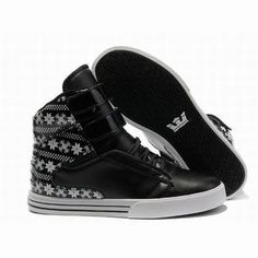 supra tk society high tops black white pattern men sneakers #fashion