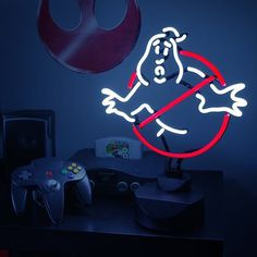 Ghostbusters Neon Sign #gadget