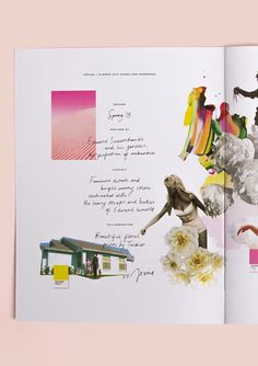 Ro & Co #page #handwriting #media #illustrations #contents #mixed #layout #collage #editorial