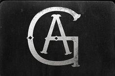 FFFFOUND! | A-HOLE - AG! #type #rustic #logo